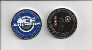 2019 Indoor Archer's Cup Challenge Coin